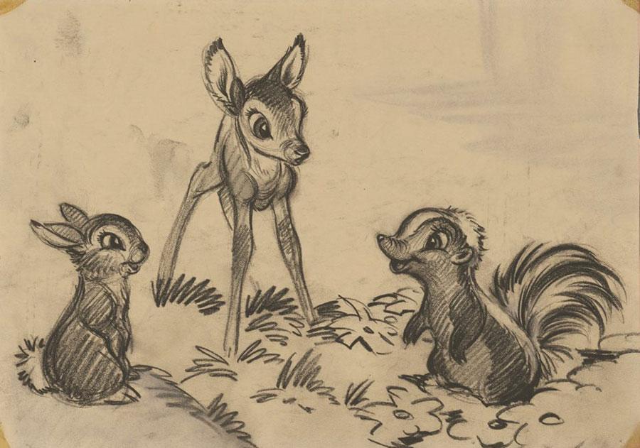 Exposition L'Art des studios d'animation Walt Disney – Le mouvement par nature - Musée Art Ludique