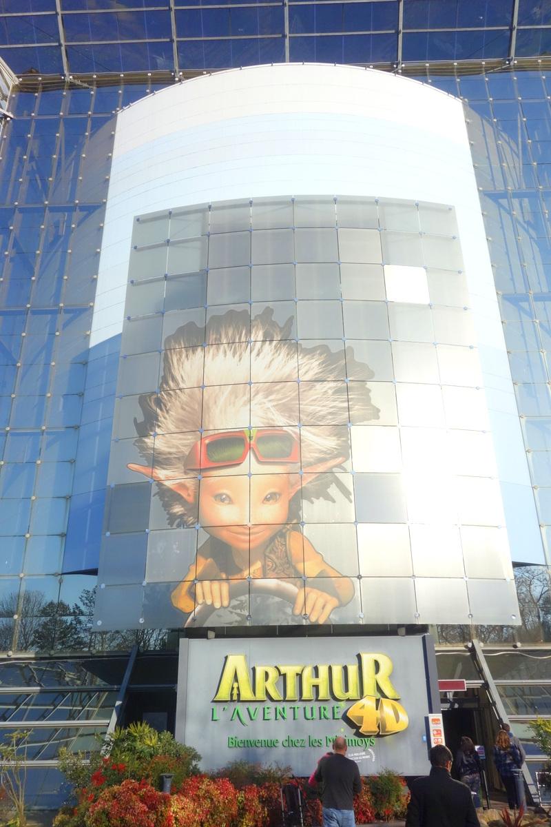 Futuroscope : Arthur 4D - Le blog de Lili