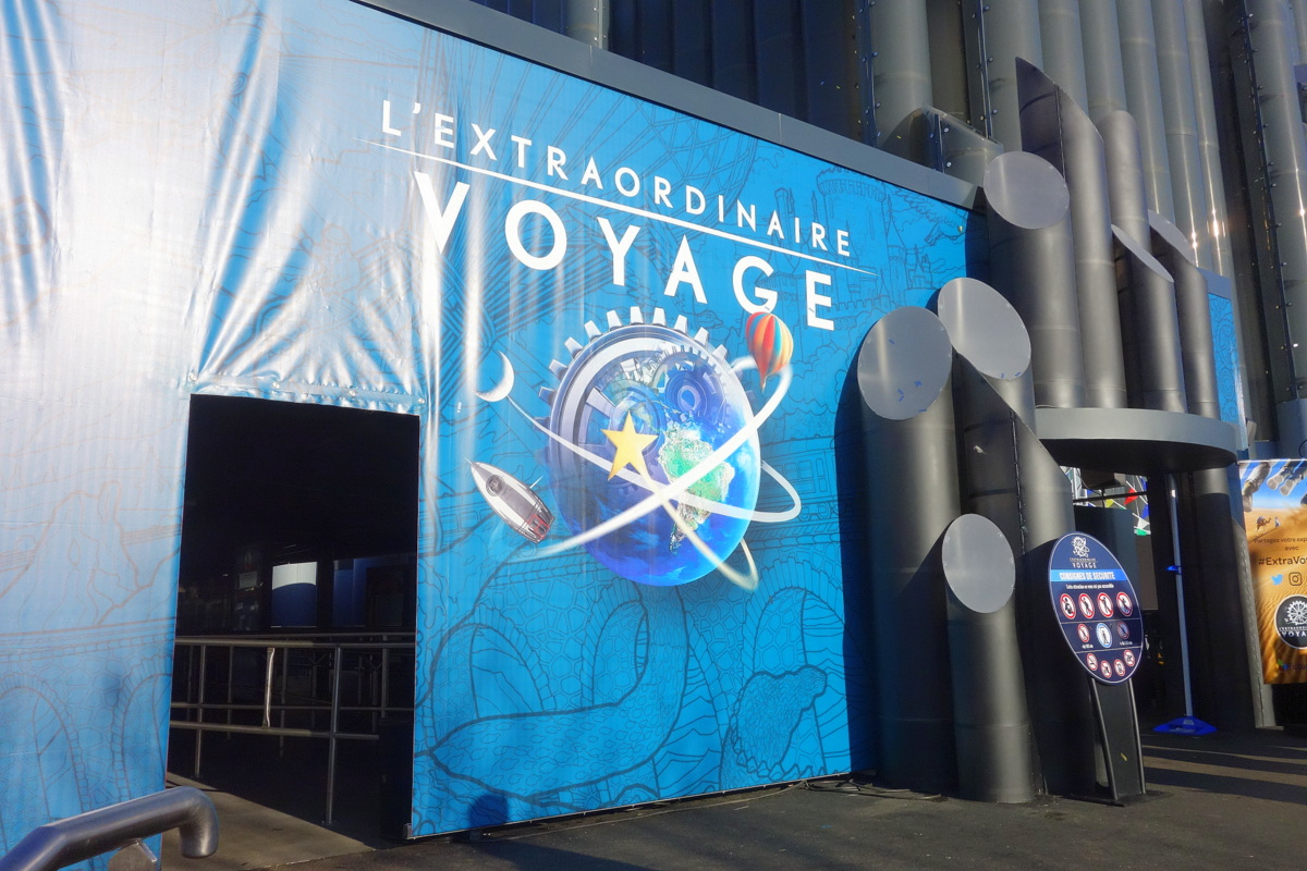 L'Extraordinaire voyage, nouvelle attraction du Futuroscope - Le blog de Lili