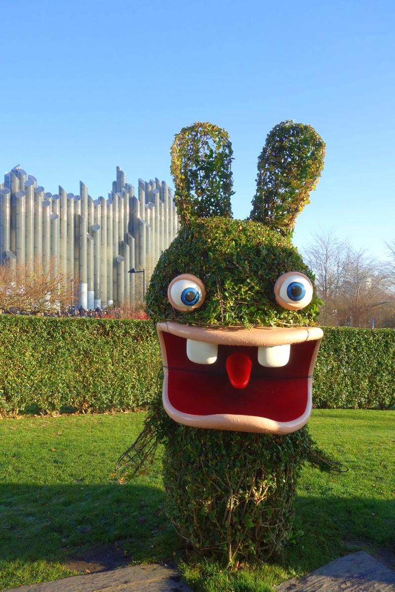 La machine à voyager dans le temps des lapins crétins - Le blog de Lili