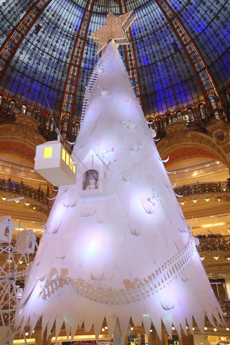 Sapin de Noël Galeries Lafayette Paris 2016 - Le blog de Lili
