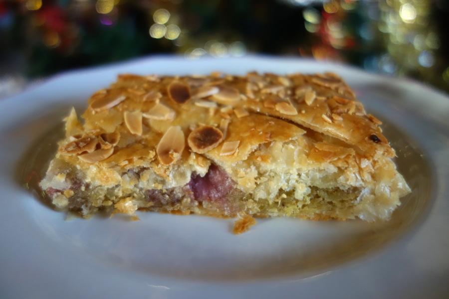 La galette des rois pistache-framboise Picard