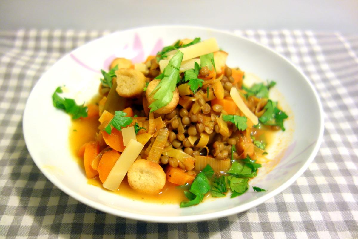 Qui Toque panier végétarien : minestrone d'automne