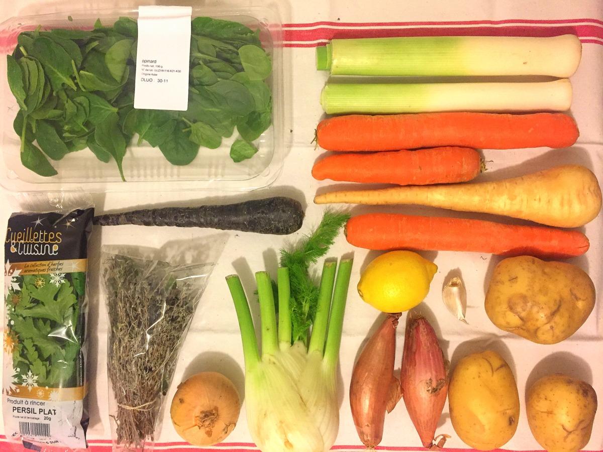 Qui Toque panier végétarien pour deux - novembre 2016