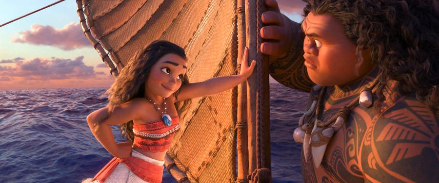 Vaiana, la légende au bout du monde, un film Disney