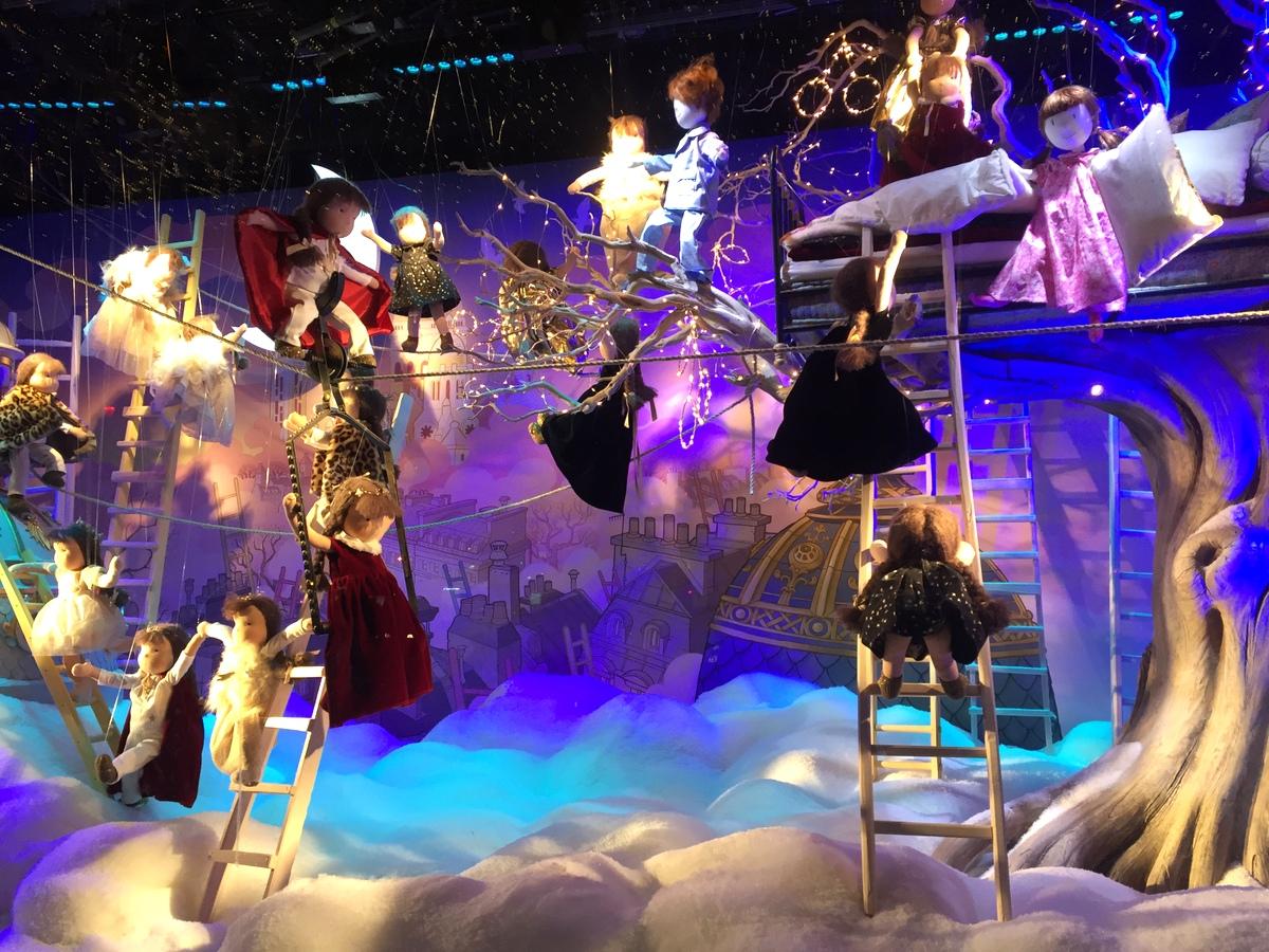 Vitrines de Noël Jimmy Choo Printemps 2016 - Le blog de Lili