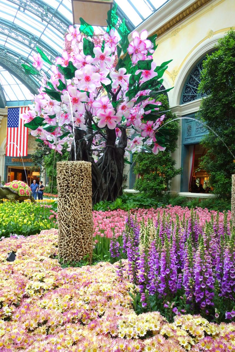 Bellagio hotel casino Las Vegas fleurs 17