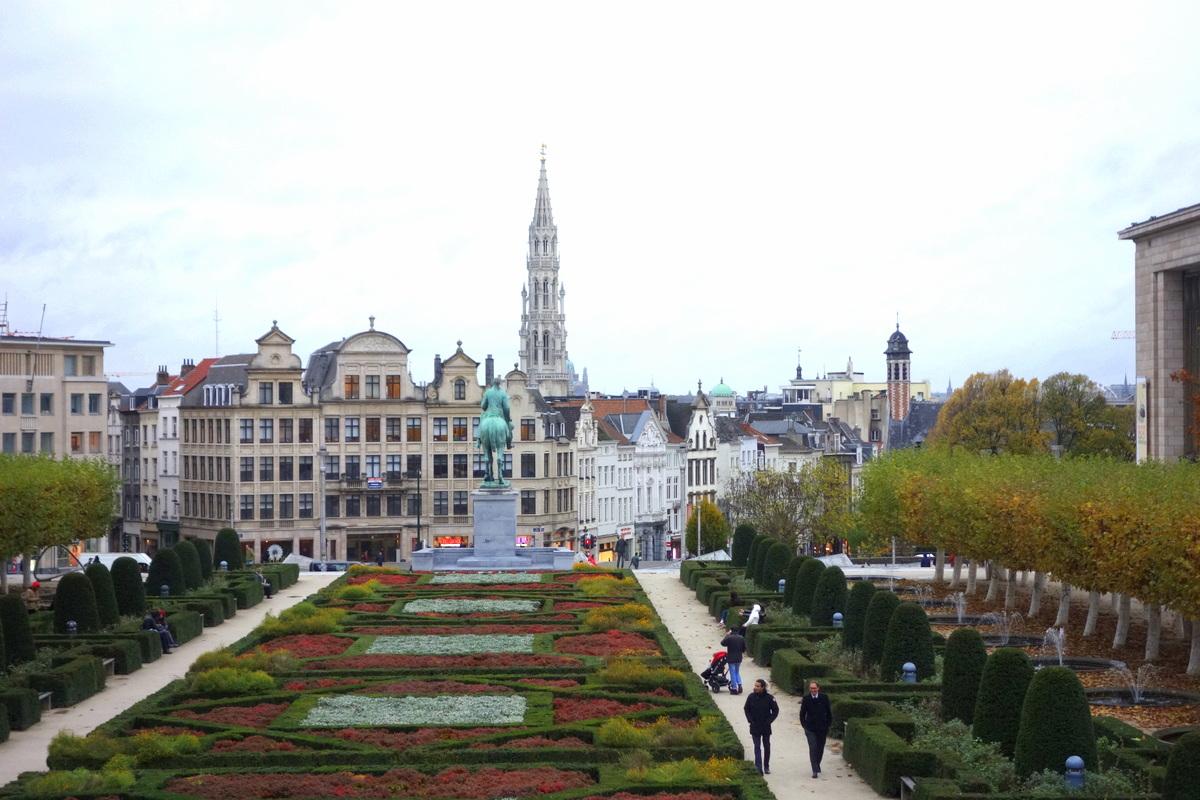 Bruxelles - Mont des arts - Le blog de Lili
