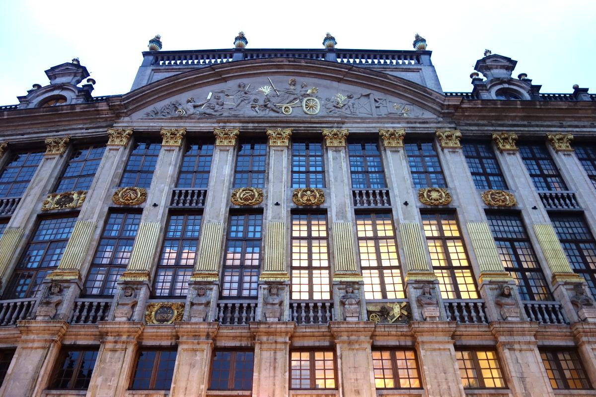 Bruxelles - façade grand place