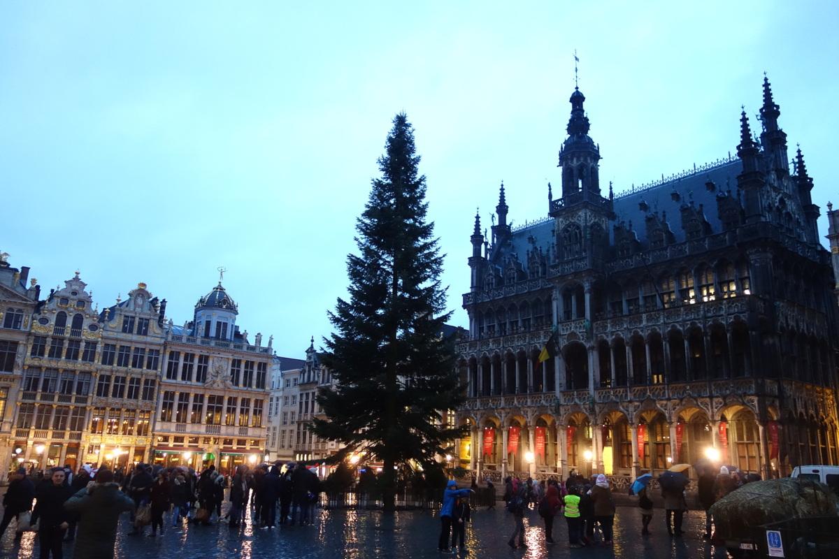 Bruxelles - Grand place - Le blog de Lili
