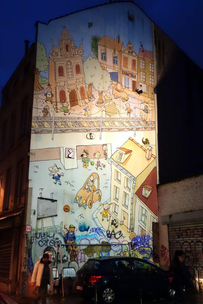 Bruxelles - Univers de la BD - Le blog de Lili
