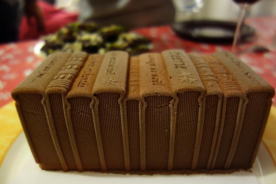 Bûche glacée au chocolat - Noël 2016 - Le blog de Lili