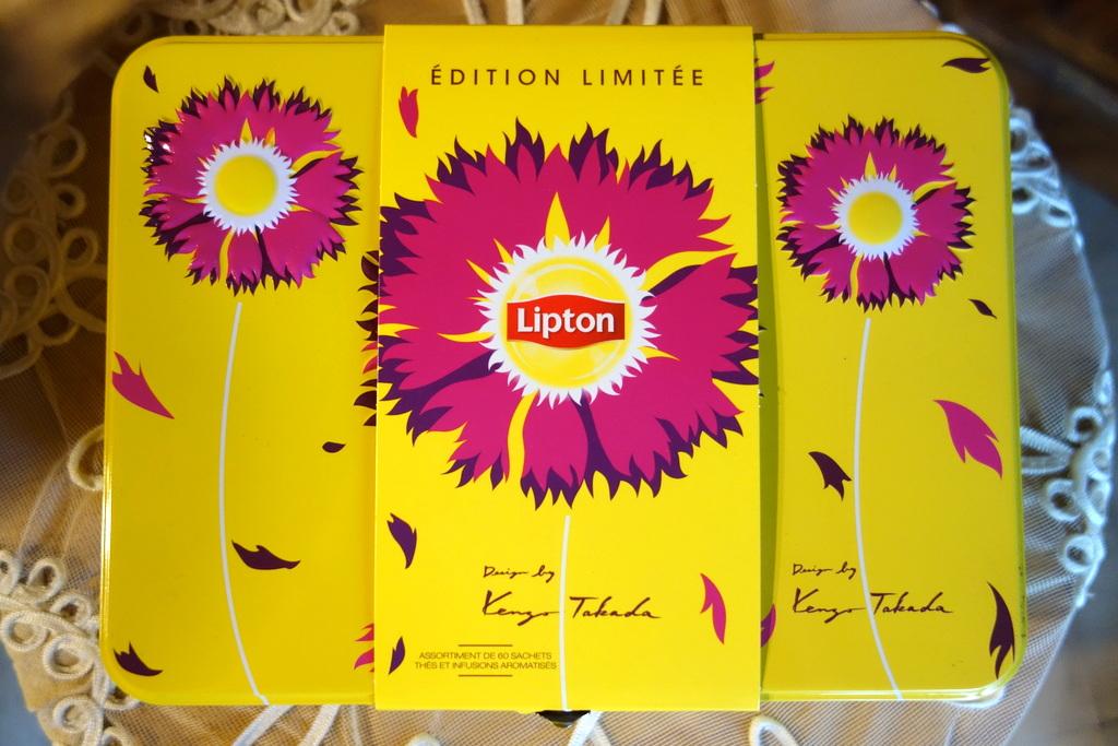 Thés Lipton édition limitée Takada