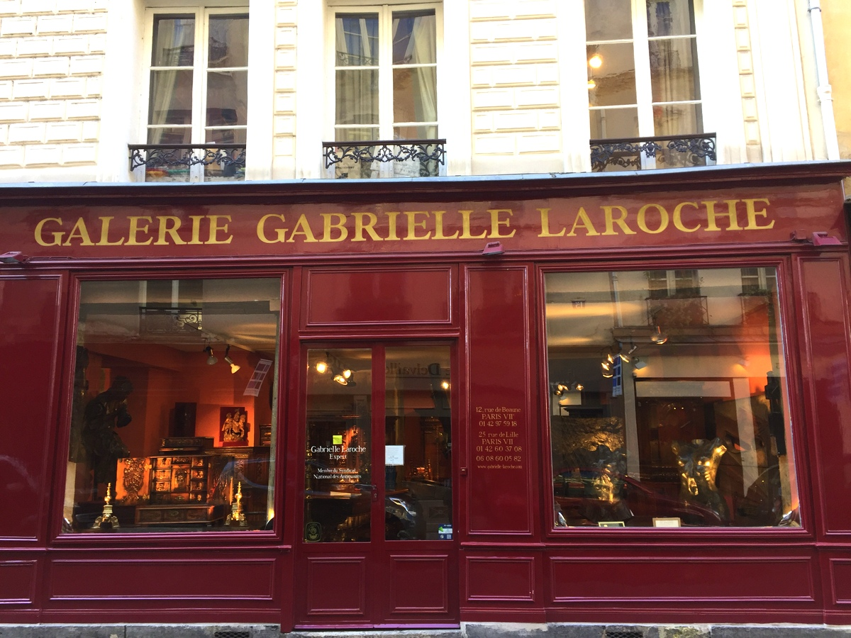 Les antiquaires du Carré rive gauche à Paris