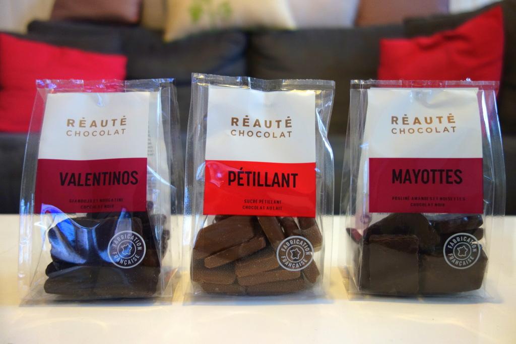 Cadeaux de Noël 2016 - Chocolats Réauté