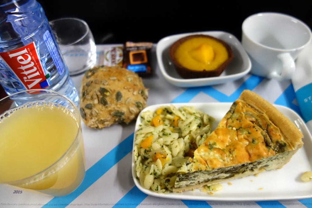 Eurostar : repas première classe