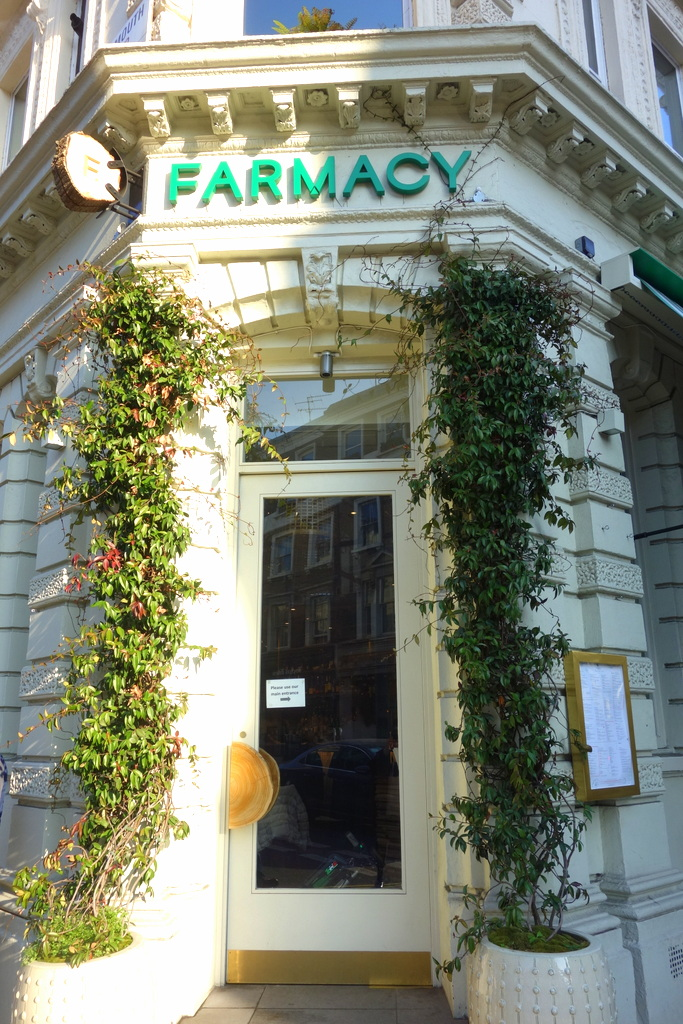 Farmacy, restau healthy Londres - Le blog de Lili