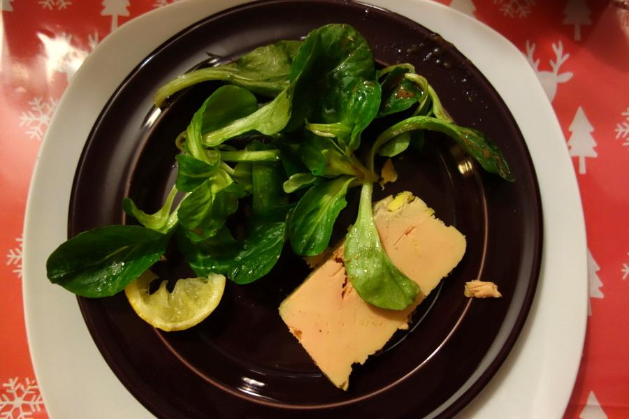 Foie gras maison fait par mon père - Noël 2016 - Le blog de Lili