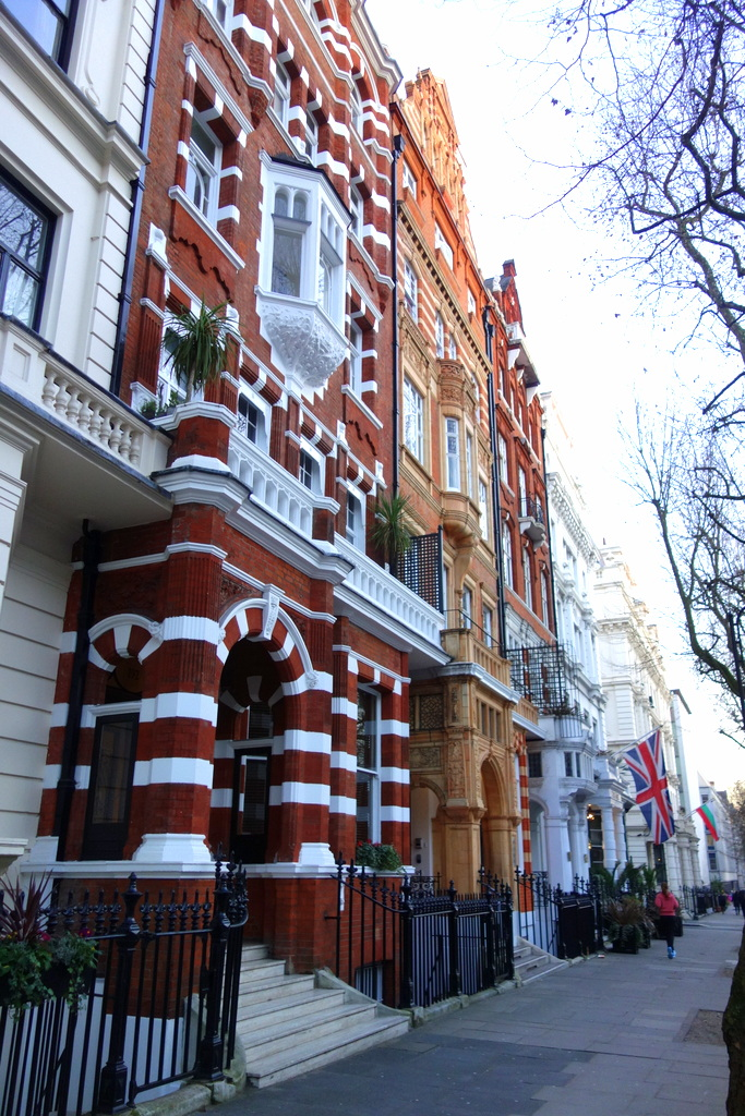 South Kensington, les rues de Londres