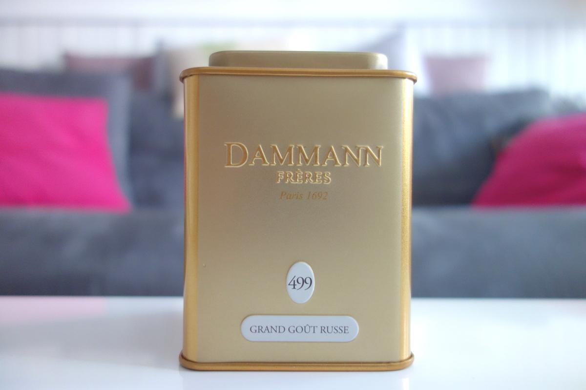 Thé Dammann goût russe