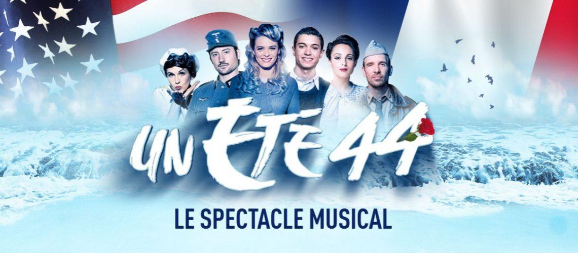 Un été 44, la comédie musicale : visuel officiel