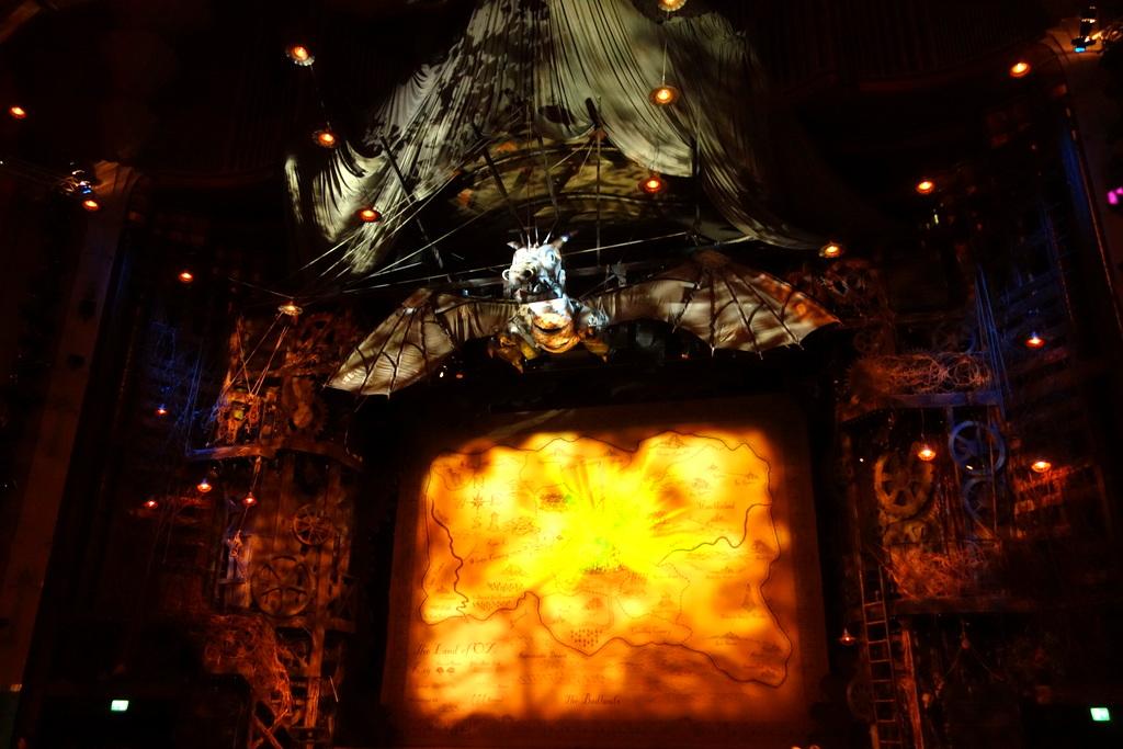 Wicked : décor du théâtre à Londres
