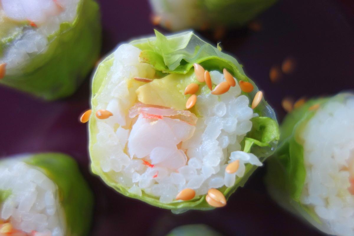 nos déjeuners côté sushi livrés à domicile - le blog de lili - Cuisine Livree A Domicile