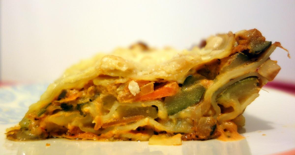 Degustabox janvier 2017 - lasagnes végétariennes
