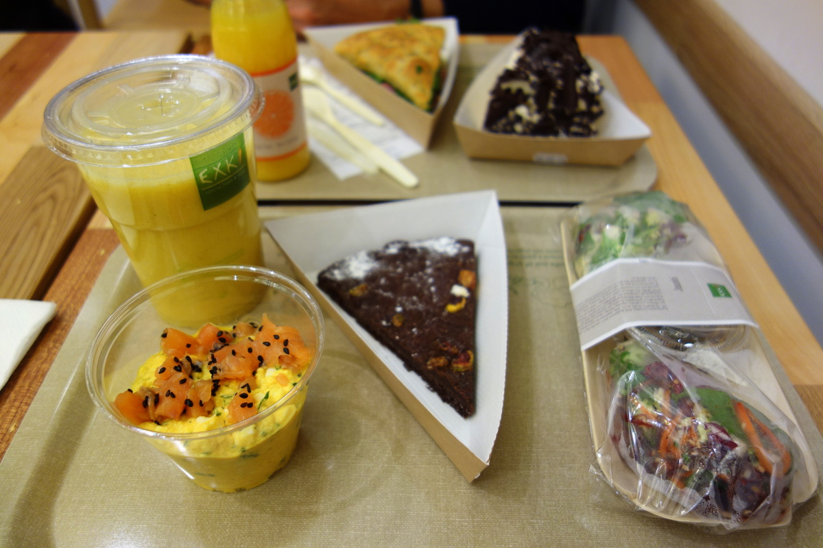 Déjeuner chez Exki Malesherbes à Paris