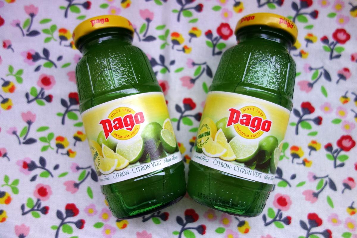 Pago citron-citron vert - Blog culinaire