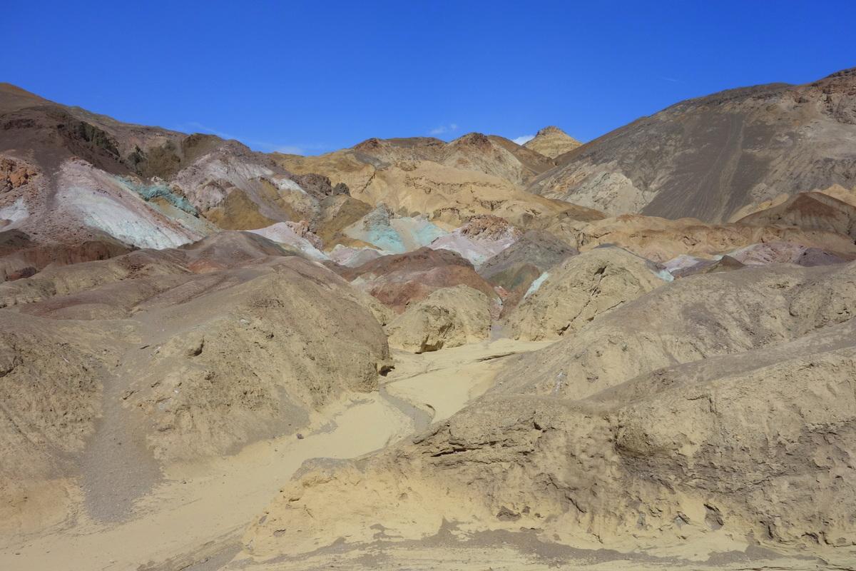 Artist's Palette - Vallée de la mort - Californie - Le blog de Lili