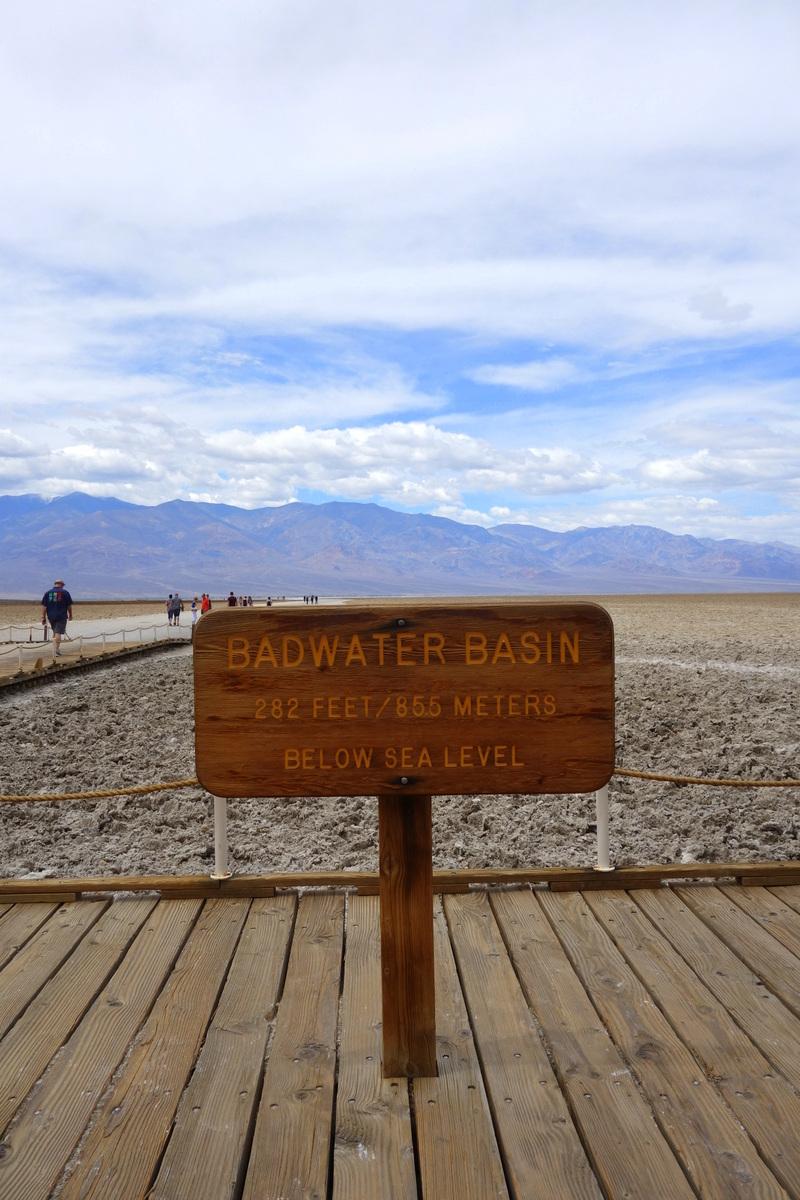 Badwater Basin - Vallée de la mort - Californie - Le blog de Lili
