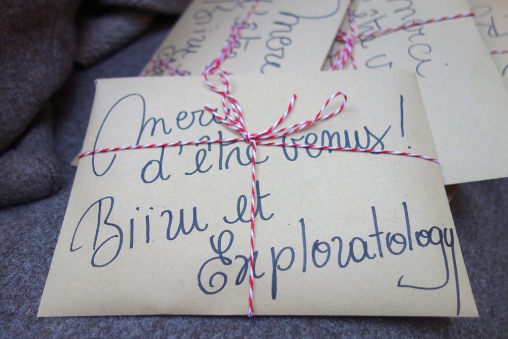 Biiru et Exploratology