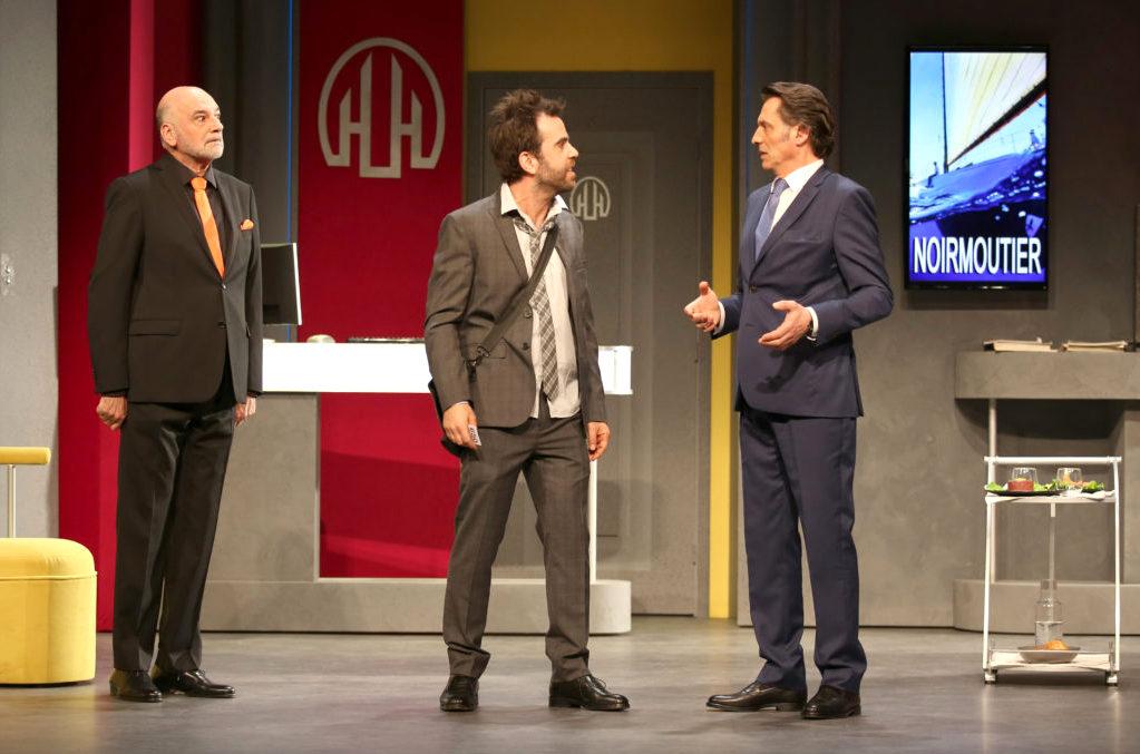 C'est encore mieux l'après-midi - Théâtre Hébertot - Copyright : Photo Lot