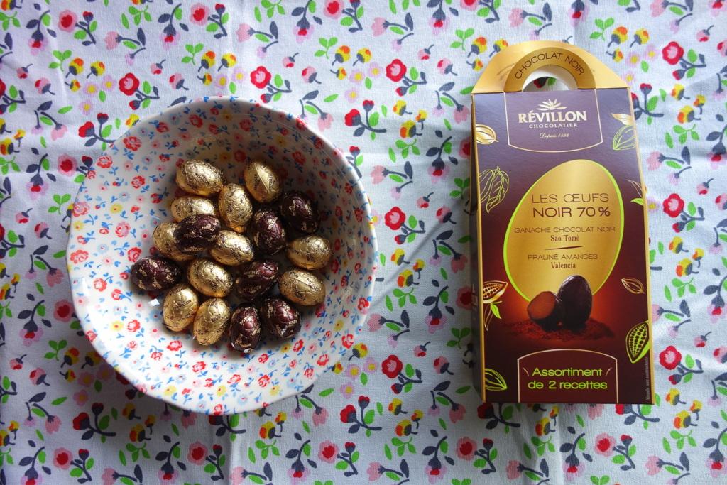 Révillon chocolatier - œufs de Pâques 2017