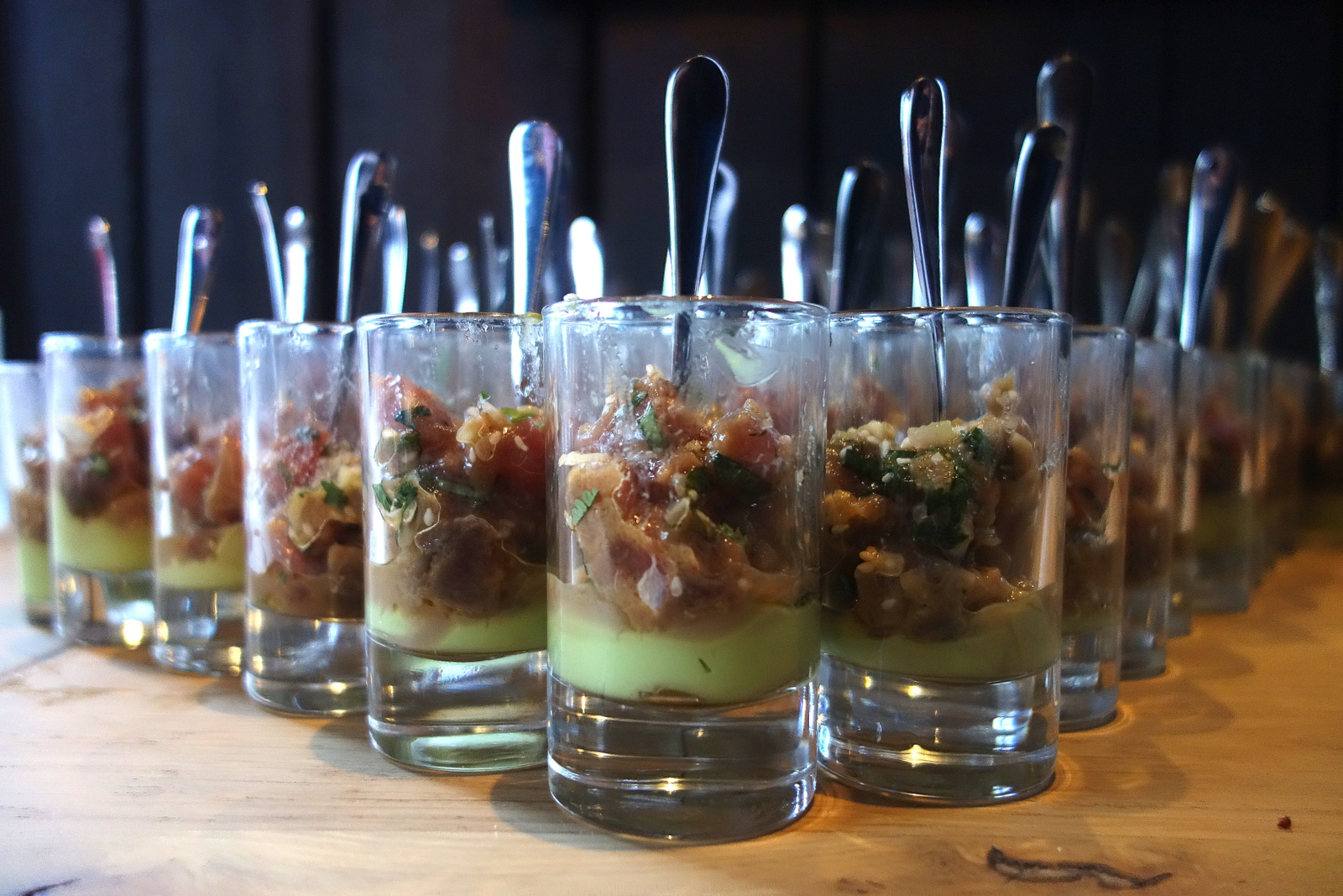 Le cocktail dînatoire de Norbert pour Leader price au Saperlipopette