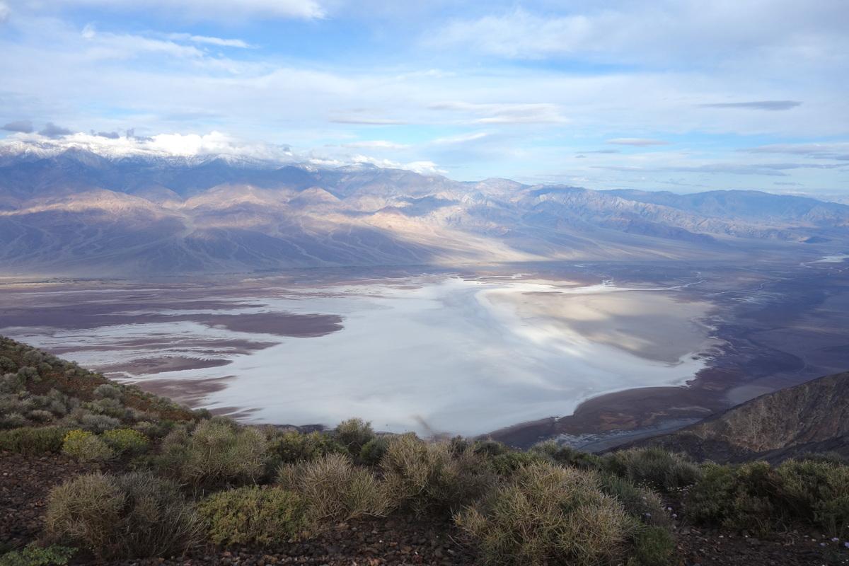 Dante's view - Vallée de la mort - Californie - Le blog de Lili