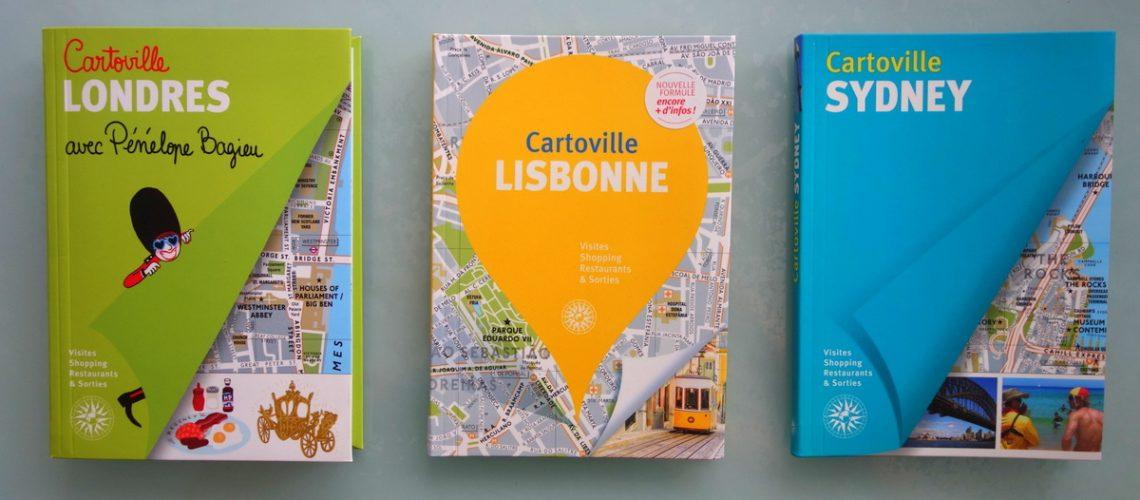 Guides de voyage Cartoville Londres - Lisbonne - Sydney
