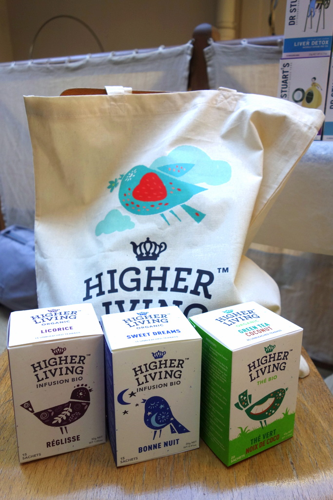 Higher living tea