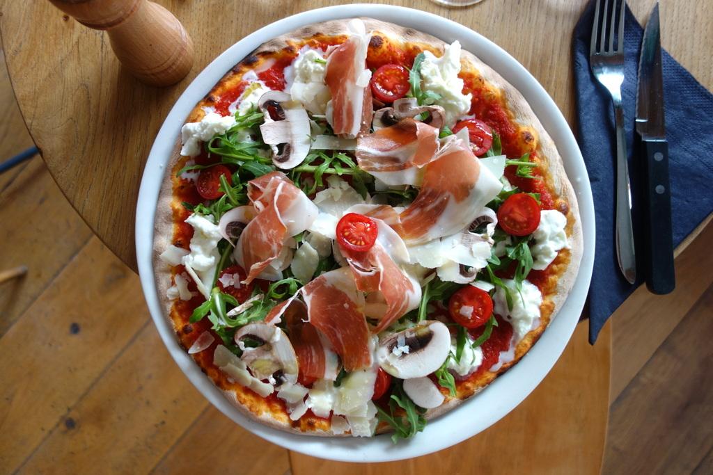 Atelier pizza au jambon de Parme chez Baretto di Edgar