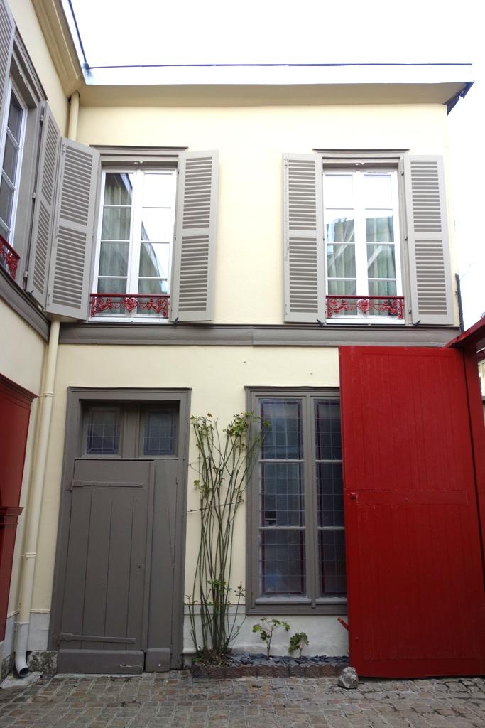 La Cour pavée - Chambres d'hôtes de charme à Troyes - Entrée
