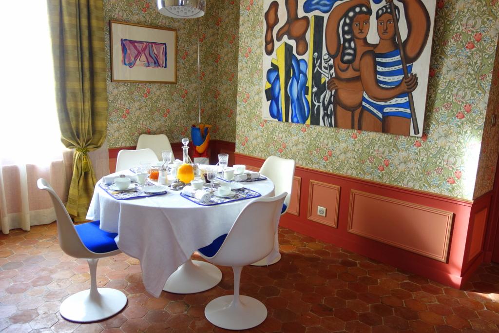 La Cour pavée - Chambres d'hôtes de charme à Troyes - Petit-déjeuner