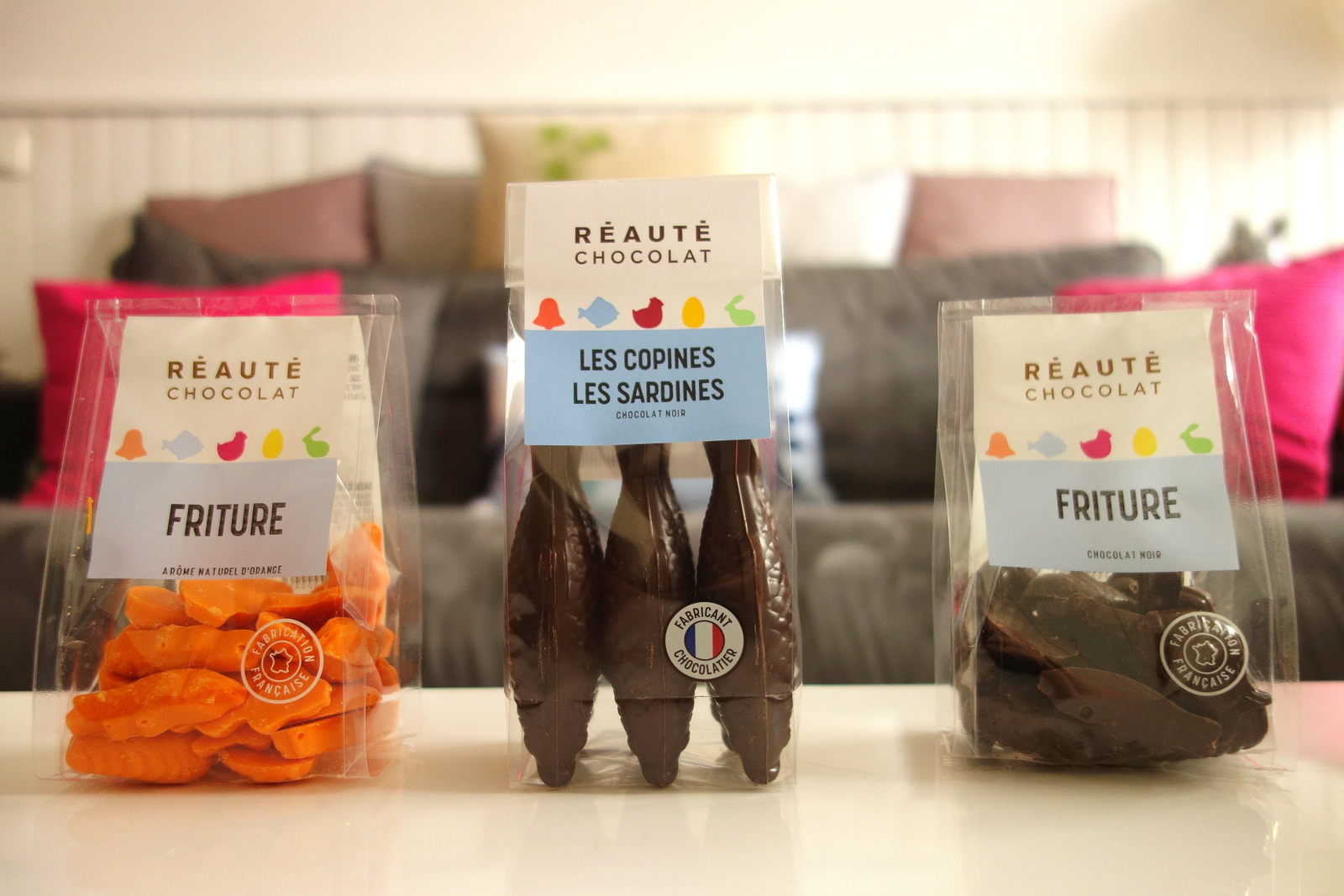 Chocolats Réauté pour Pâques 2017