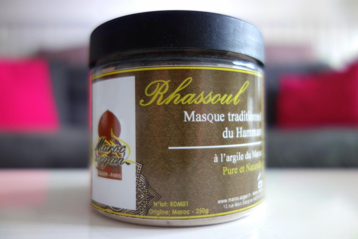 Rhassoul Maroc Argan - Blog beauté