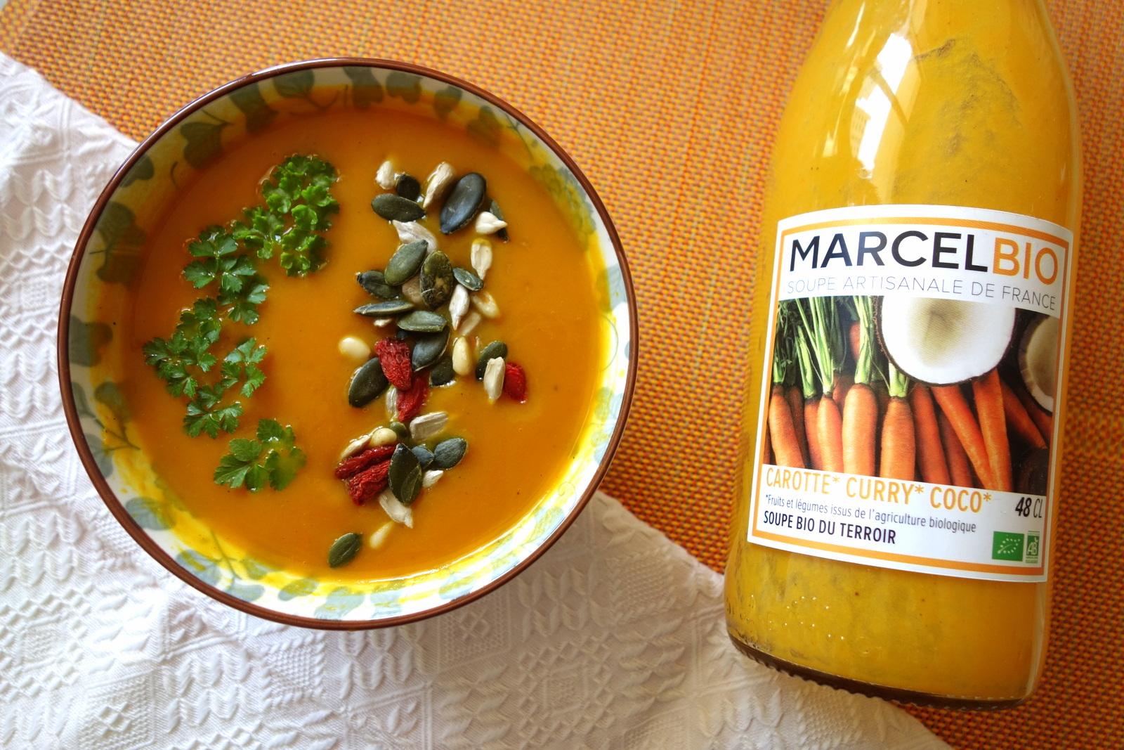 Soupes Marcel bio