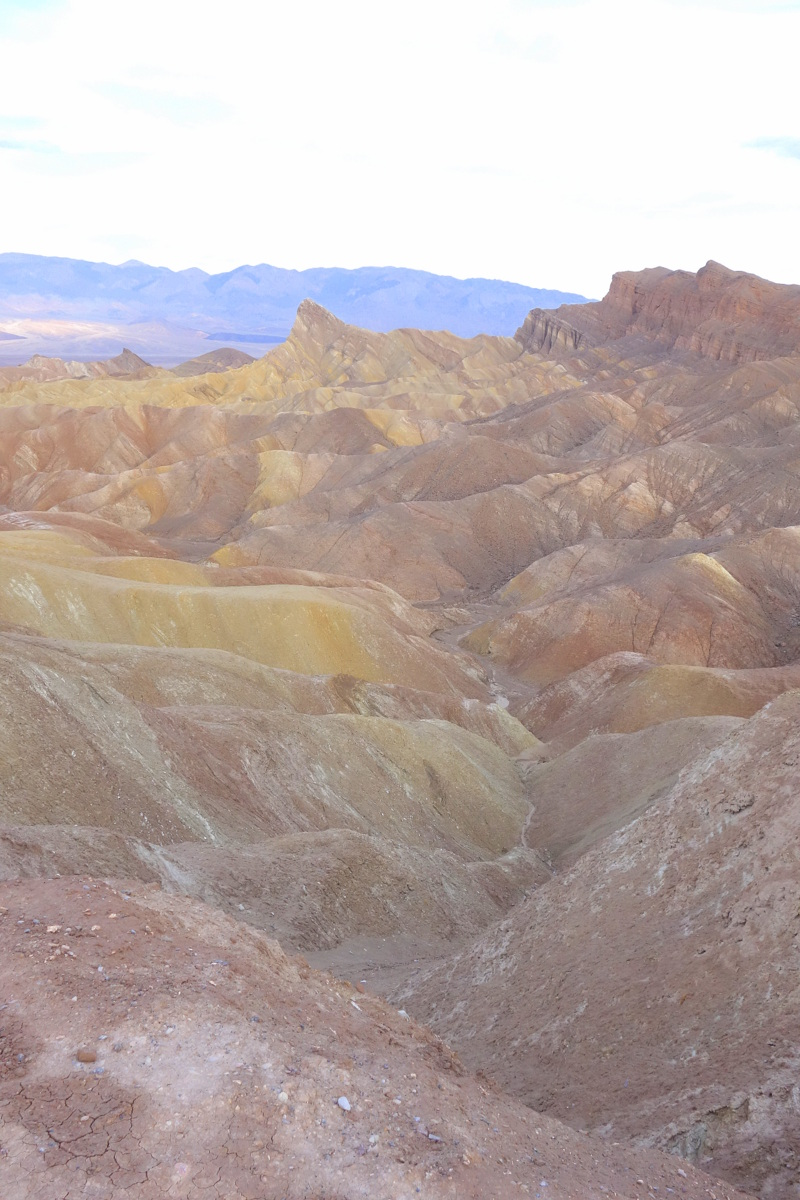Zabriskie Point - Vallée de la mort - Californie - Le blog de Lili