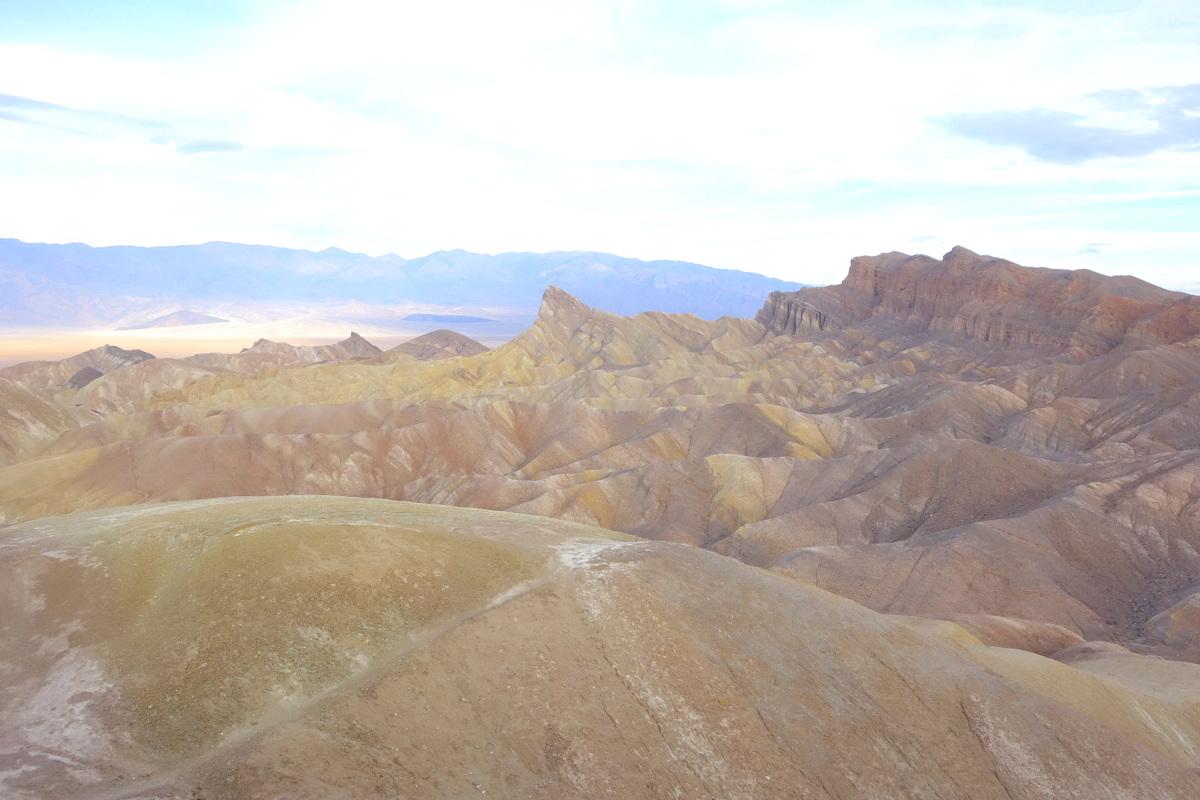 Zabriskie Point - Vallée de la mort - Californie - Le blog de Lili
