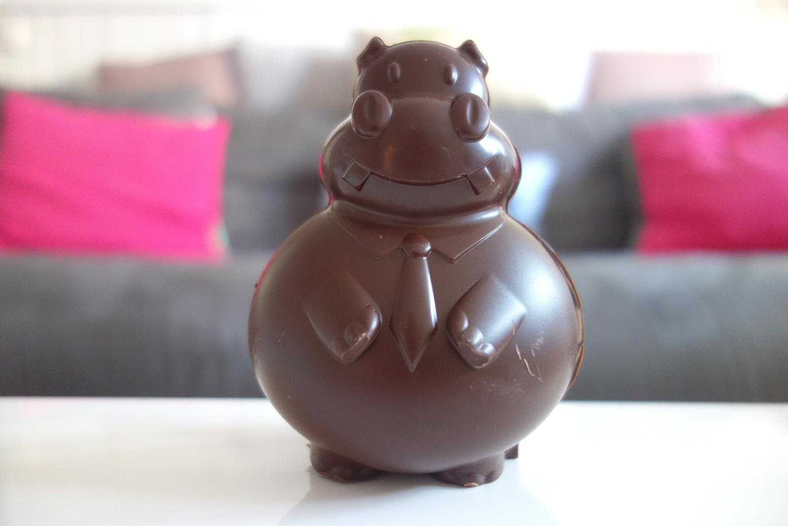 Hippopotamus nouvelle carte 2017 - chocolat