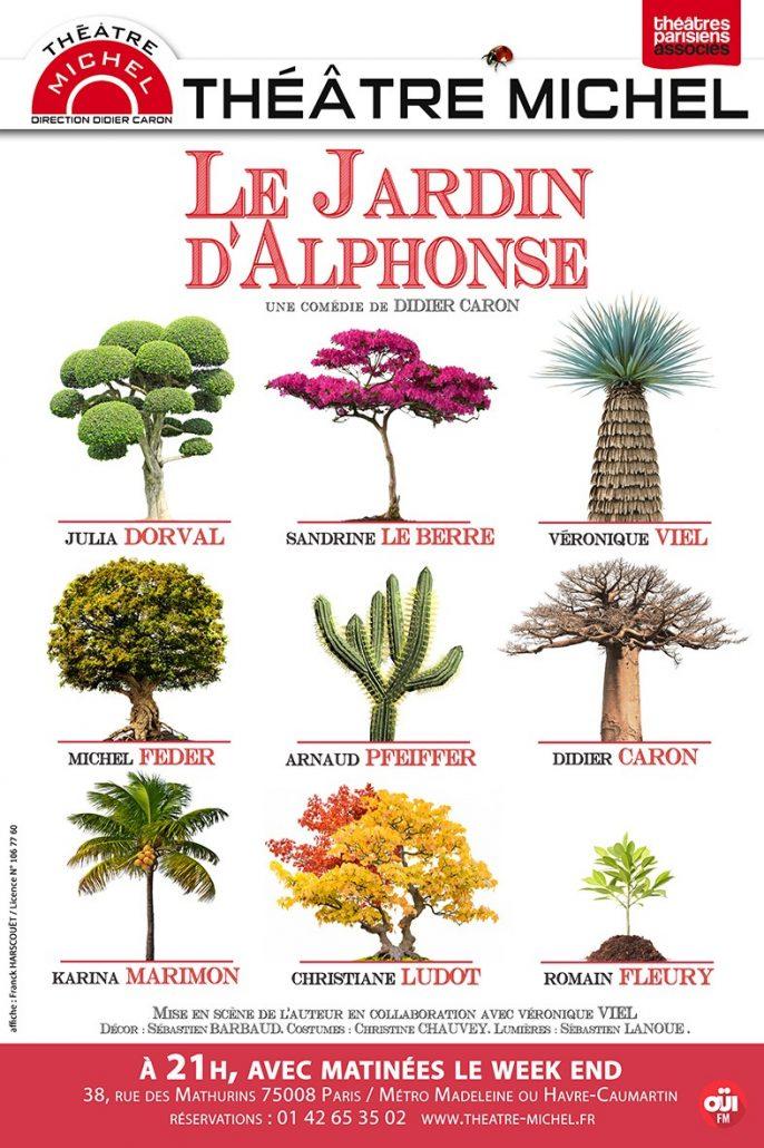 Le jardin d'Alphonse - théâtre Michel