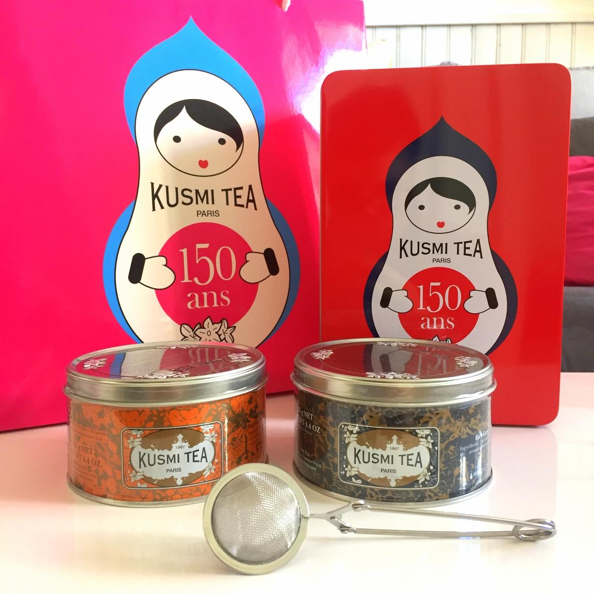 Concours Kusmi tea - Le blog de Lili